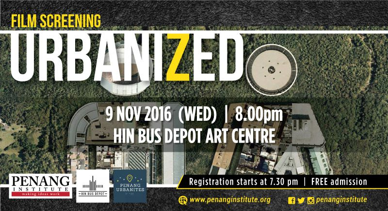 film screening urbanized