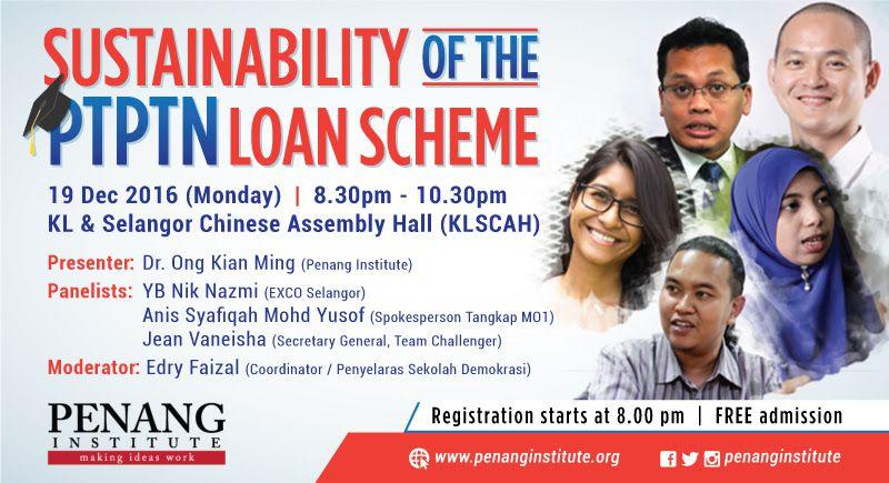 sustainability of the ptptn loan scheme