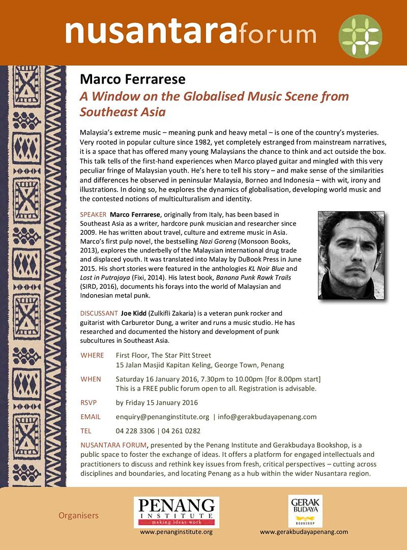 window on the globalised music scene