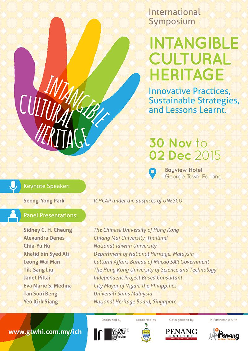 intl symposium on intangible cultural heritage