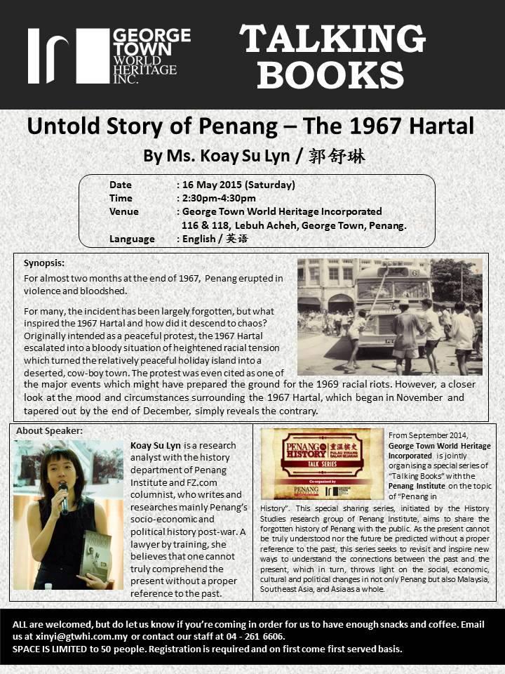 penang in history may2015