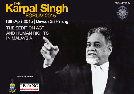 the karpal sign forum2015