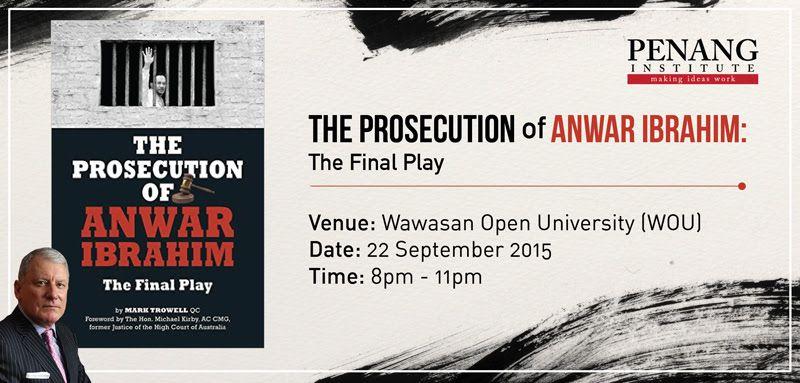 the prosecution of anwar ibrahim
